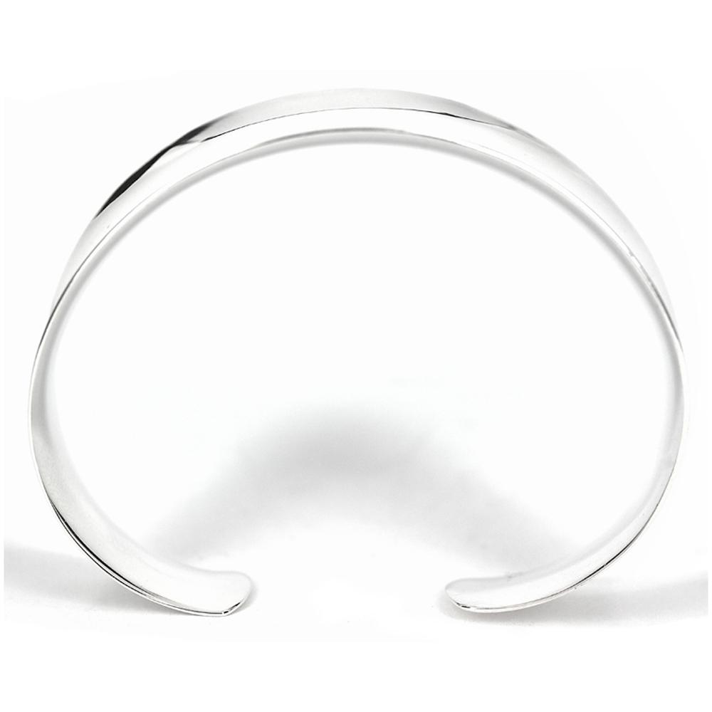 Silver Polished Cuff