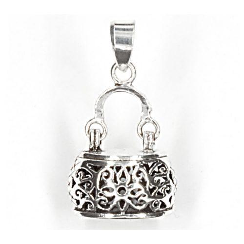 Silver Handbag Design Pendant