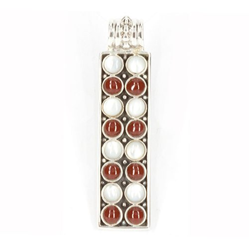 Pearl & Red Coral Pendant